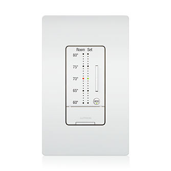 Now Available Temperature Control From Lutron Digital